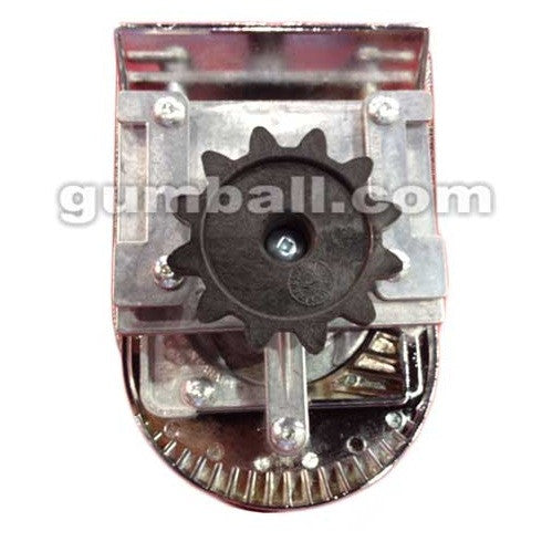 Rear view of Tomy Gacha coin mechanism by Beaver