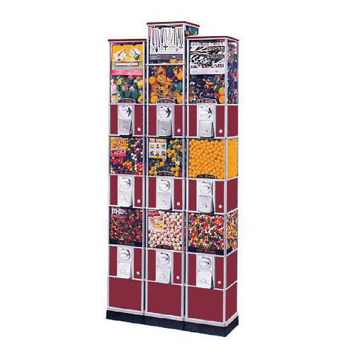 Triple Decker Tower Vending Machine