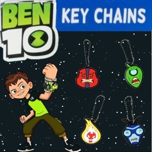"Ben 10 Keychains 2"" Capsules Product Image"