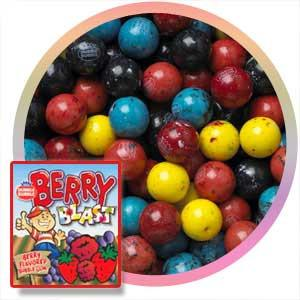 Dubble Bubble Berry Blast Gumballs 23 mm 1080 ct