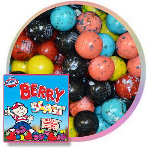 Dubble Bubble Berry Blast Gumballs
