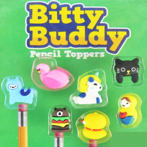 "Bitty Buddy Pencil Toppers 2"" Capsules Product Image"