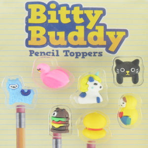 "Bitty Buddy Pencil Toppers 1"" Capsules Product Image"
