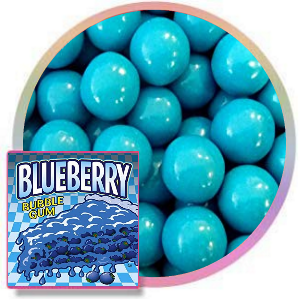 Blue berry Gumballs