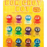 Bok Choy Boy Toy Capsules Display