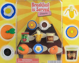 Breakfast is served 1 inch capsule display