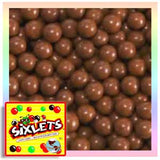Brown Sixlets Candies