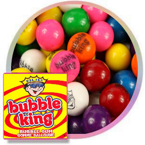 Bubble King Assorted 850 Count Gumballs