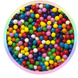 Bubble gumballs for bulk vending