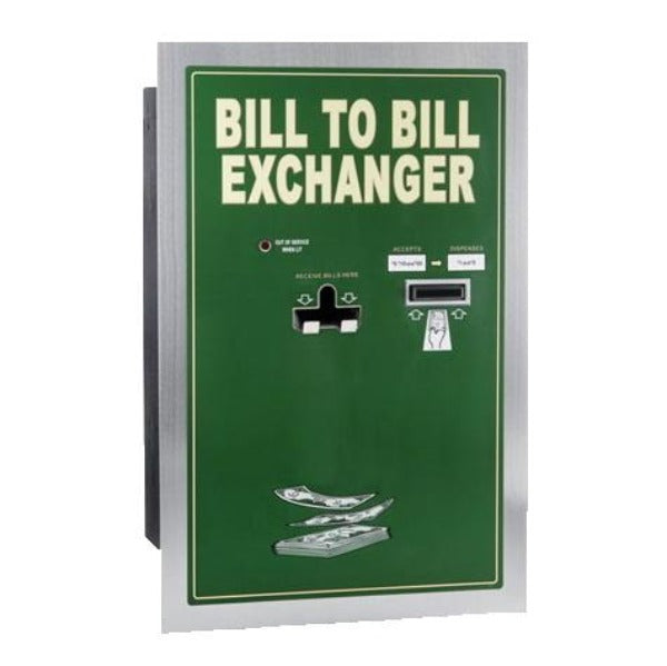 BX1030RL Bill-to-Bill Standard Change Machine Product Image Front View