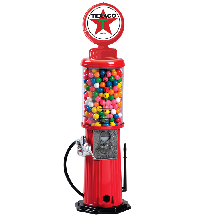 Texaco Gas Pump Gumball Machine For Sale Gumball Com