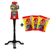 King Carousel Gumball Machine and Stand & gumball refill
