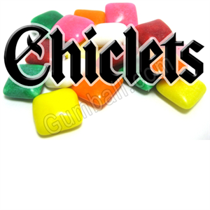 Chiclets Vending Label
