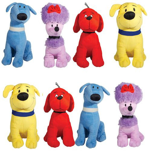 Clifford and Friends Jumbo Plush Mix - 48 ct