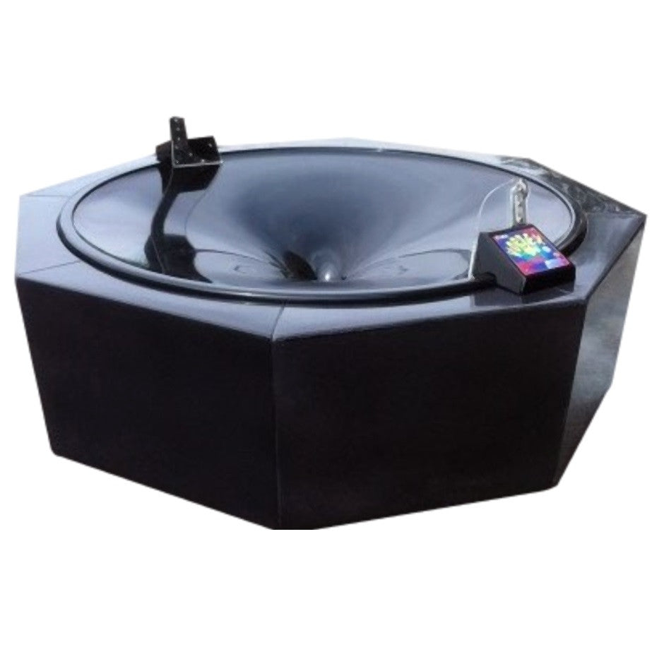 Coin vortex funnel / wishing well in black