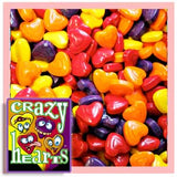Crazy Hearts Candy