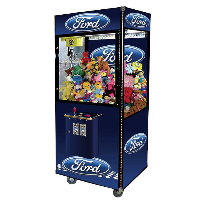 custom logo claw machine crane machine gumball