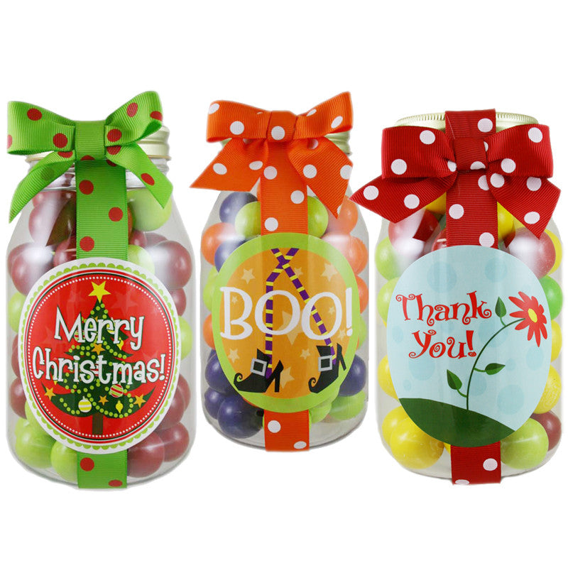 Personalized Gumball Jars