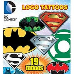 DC Comics Logo Tattoos