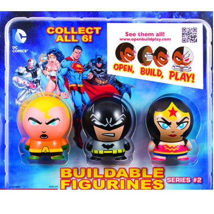DC Comics Buildables Series #2 in 2 inch toy vending capsules