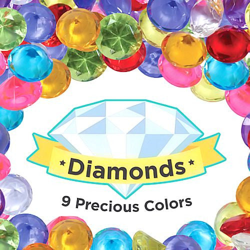 Bulk Plastic Diamonds