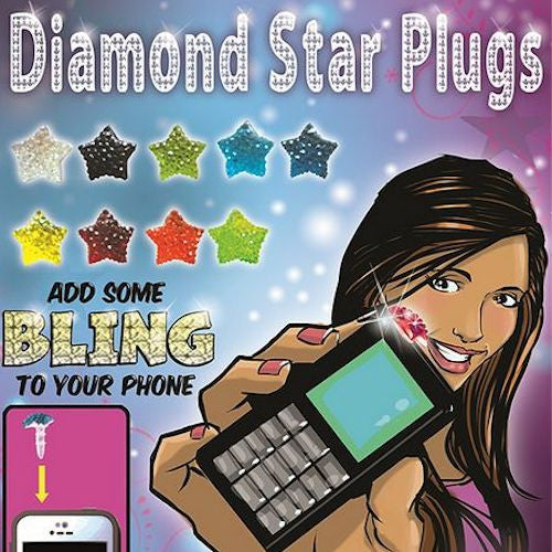 Diamond Star Plugs 1 Inch Toy Capsules