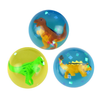 45 mm 3-D Dinosaur dino Super Bouncy Balls Product Detail Multiple Colors