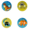 45 mm 3-D Dinosaur dino Super Bouncy Balls Product Image