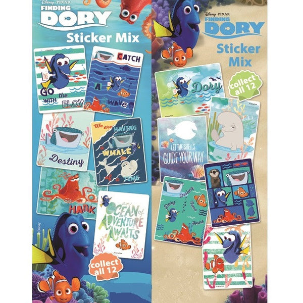 Finding Dory Sticker Display