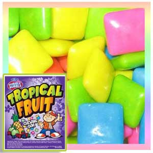 Dubble Bubble Tropical Fruit Chicle Gum