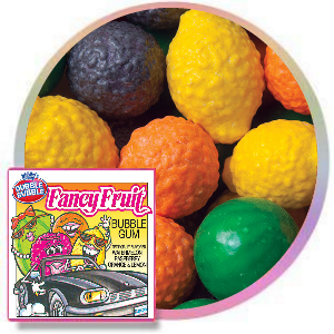 Dubble Bubble Fancy Fruit Gumballs  Product Image