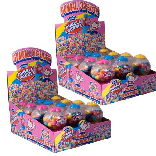Dubble Bubble Mini Gumball Machines