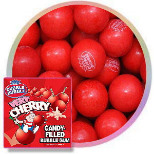 Dubble Bubble Very Cherry Gumballs Product Image