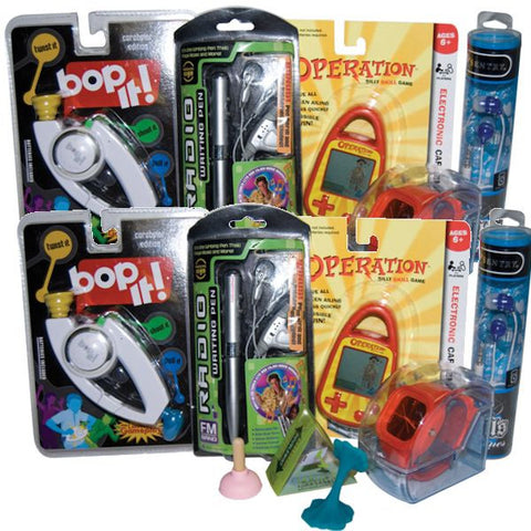 Electronic Prize Kit with Hand Held Games