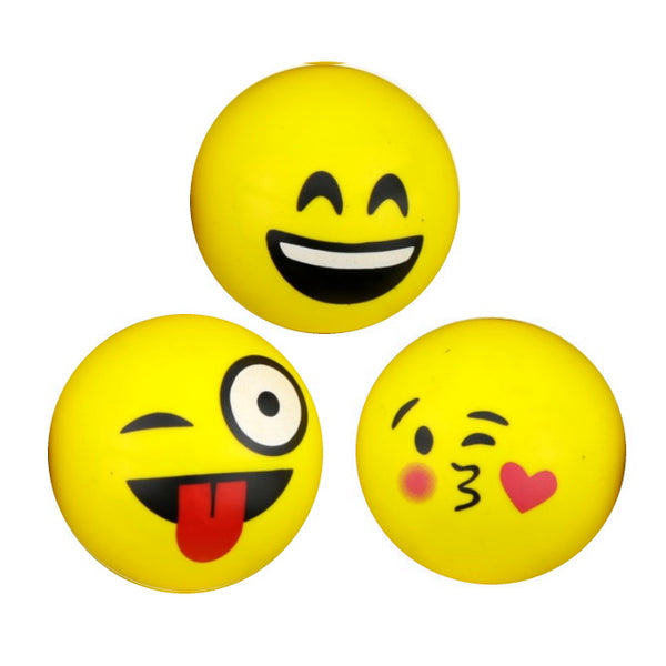 49 mm Emoji Superballs Bouncy Ball Product Detail
