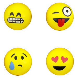 45 mm Emoji Superballs Bouncy Ball Product Image