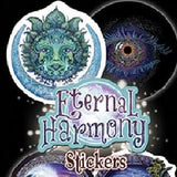 Eternal Harmony themed stickers