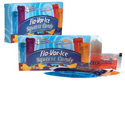 Fla-Vor-Ice Squeeze  Candy Theatre Box