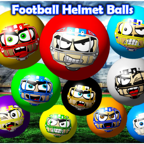 Football Helmet Crane Machine Balls