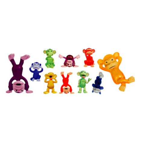 Funny Monkeys Figures