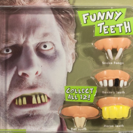 Funny Teeth Display