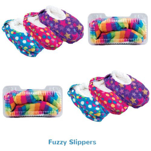 Fuzzy Slippers prize kit