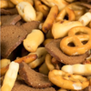 gardetto's gardettos original classic family recipe snack mix product detail, closeup