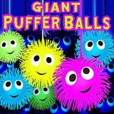 Giant Puffer Balls 4 inch Toy Capsule
