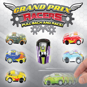 "Pull Back Grand Prix Racers 2"" Capsules Product Image"
