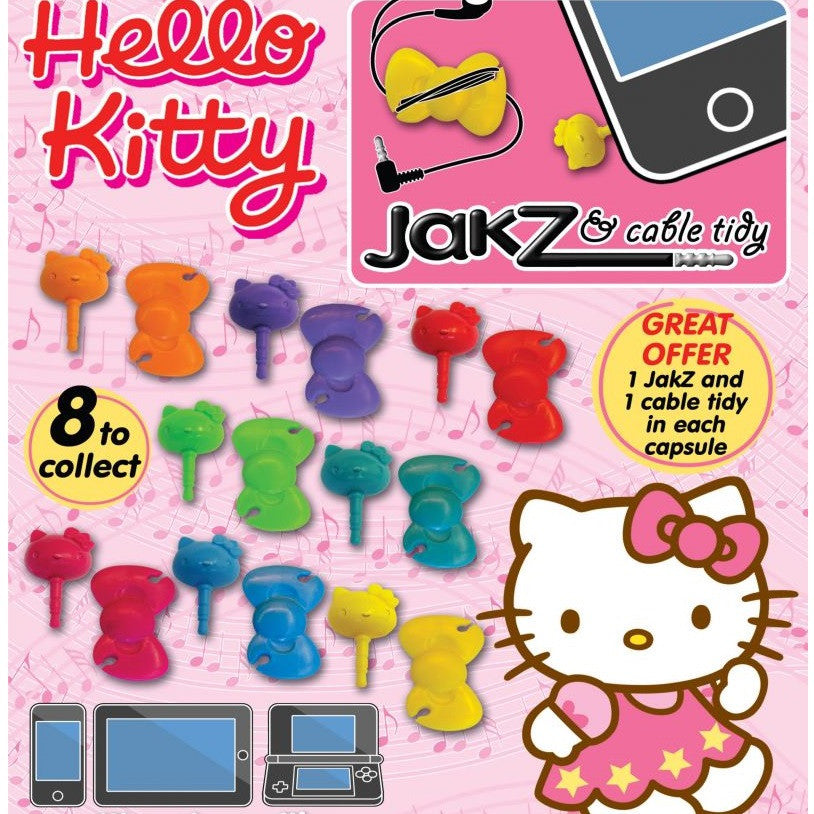Hello Kitty Jakz N Plug Cable