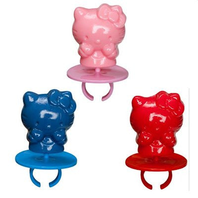 Hello Kitty Lollipop Rings