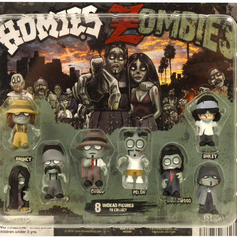 Zombie Homies Display Card