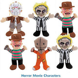 Horror Movie Licensed Jumbo Plush Mix - 48 ct