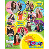 iCarly Mini Stickers 2 Inch Toy Capsules